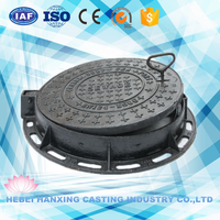 EN124 D400 Buy Hinged Cast Iron Manhole Cover price