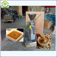 America popular small model stainless steel peanut butter colloid mill