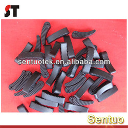 Black Color Silicone Rubber Molded Component