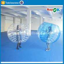 Cheap loopyball/bubble soccer ball for adult