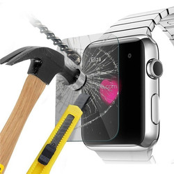 clear tempered glass screen protector for Apple Watch