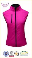 OEM wholesale women red bike vest women waterproof bike vest women breathable bike vest