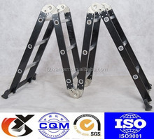 multi function folding ladders aluminum with free board with EN131 approval