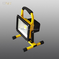 China Manufacturer rechargeable led floodlight dimmable