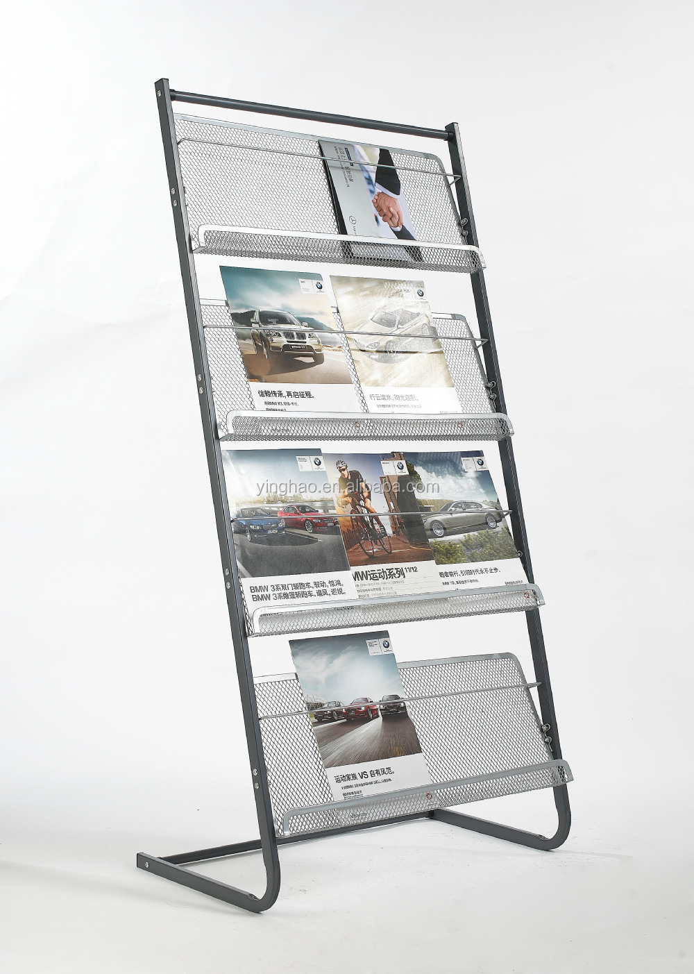 Types Of Exhibition Displays : Various type newspaper brochure stand display rack buy