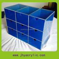handmade top quality acrylic paint storage containers/acrylic makeup storage containers for wholesale