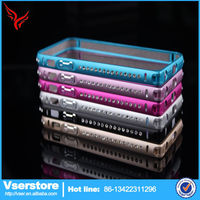Single row drill frame bumper bling Case cover for iPhone 5