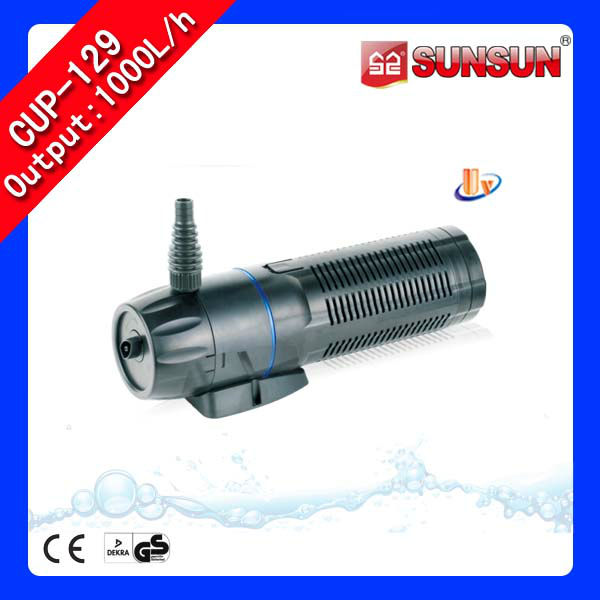 Submersible pond filter pump pond bio filter with uv light for Pond filter system with uv light