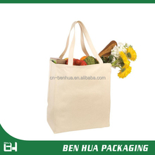 Cheap Customized Blank Canvas Wholesale Tote Bag