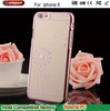 For iphone 6 transparent case,for iphone 6 plastic case,for ip6 Diamond case