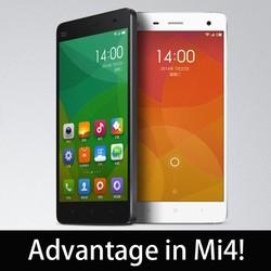 """xiaomi mi4 4g fdd-lte smart phone 5"""" screen 1920x 1080/ 8cores/13MP/8MP Camera/ 3GB RAM"""