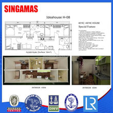40hc China Prefabricated Container Homes