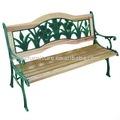 Muebles de jardín, de hierro fundido banco del jardín, banco del parque