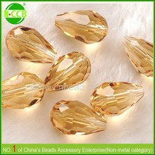 Cheap AB coated charm chinese teardrop wholesale crystal beads