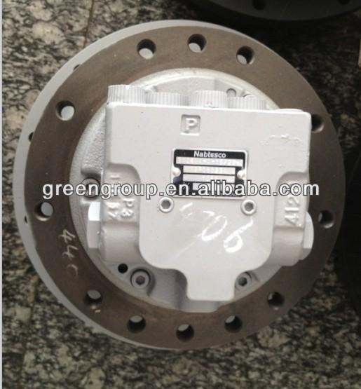 Morooka carrier gm10va final drive nabtesco gm10va travel for Hydraulic track drive motor