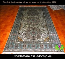 China manufacturers 400 line pretty carpet high quality Indian hand knotted rugs