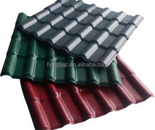HOLU high quality synthetic terracotta roof tile/synthetic spanish roof tile/synthetic terracotta roof tile