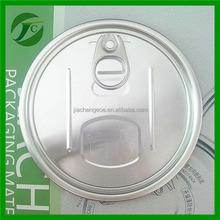 aluminum easy open lid pop-top cap