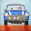 Home interior design art supplies handmade car oil painting