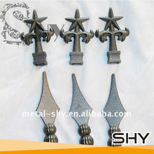 Decorative Cast Iron Gate Part,Wrought Iron Gate Part for Gate,Fence,Stairs as Decoration Parts