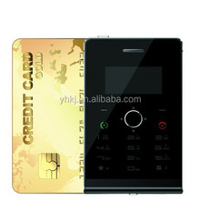 upgrade Card Mobile Phone Ultra Thin Pocket Mini Phone Quad Band Card Cell phone