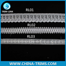 newest fashion embroidery cord lace in yard RL03