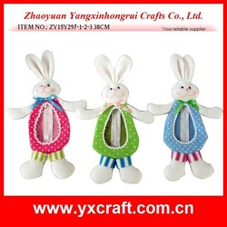 Easter decoration (ZY15Y297-1-2-3) easter bunny bag