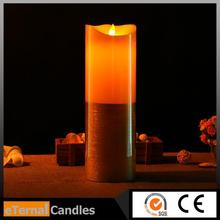 Wedding souvenirs moving flame outdoor candle