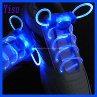 top second generation luminescent ultra bright led silicone shoelaces blink function 70hours