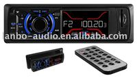 Detachable car mp3 player with radio tunner and LCD display