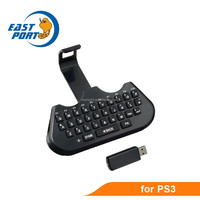 Mini black wireless keyboard