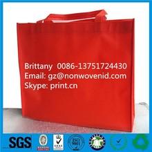 Wholesale personalize non-woven bag folded