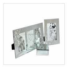 Super quality most popular optic curved crystal photo frame
