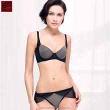 hot selling lace underwear cute sexy girls in black panties