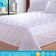 American size hotel supplies wholesale Knitted fabric bedsheet