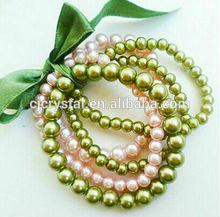 最新の小間物緩い真珠
