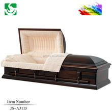 Trade Assurance chinese manufacturer cheap maple american casket