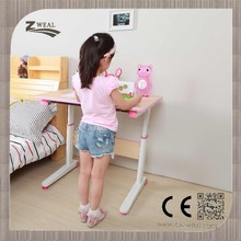 multifunctional height adjustable children desk excellent quality