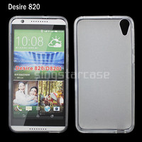 new arrival soft gel tpu case for htc desire 820