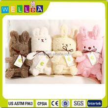 lovely mini rabbit cartoon baby blanket