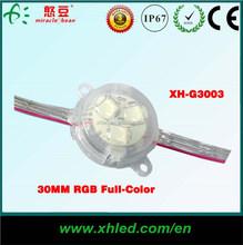DC12V DMX control lighting high brightness RGB leds for outdoor