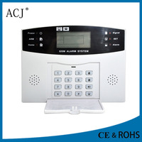 wireless 433/315mhz frequency gsm home yard security alarm system