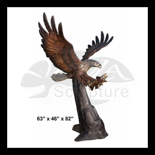 High Quality bronze llano eagle sculpture