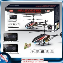 FPV real time helicopter ,3.5ch alloy rc flying camera helicopter, wifi/ipad/iphone control helicopter camera toys GW-T604W