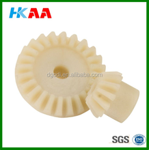 CNC machined nylon gears/spur gears