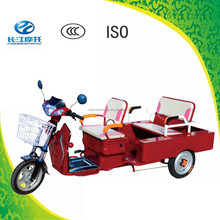 China newly designed three wheel electric scooter for passenger or for cargo