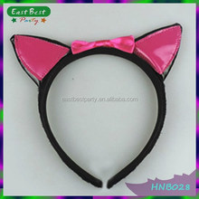 Pink animal ears costume cat ears hen party halloween party accessories