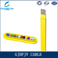 Hot sales GJDFJV Indoor Flat fiber ribbon Fiber Optic jumper Cable