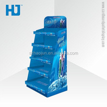 Hot stytle corrugated cardboard floor stand toothbrush display /toothpaste pallet display made in szhenzhen factory