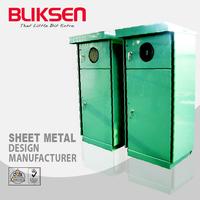 Sheet metal automatic standard type genset control panel enclosure